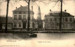 België - Willebroeck - L Eglise Kerk Du Canal Kanaal - 1900 - Unclassified