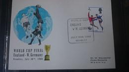 Soccer / Football / Fussball - WM 1966: UK SoKarte - Endspiel, Used - 1966 – Inghilterra