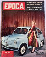FRANCA MAY - EPOCA N.  232 DEL   13 MARZO 1955 (CART 54) - Motori