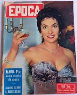 GINA LOLLOBRIGIDA - EPOCA N.  225 DEL    23 GENNAIO 1955 (CART 54) - Motori