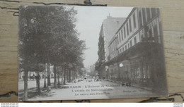 PARIS 12e : Avenue De St Mandé, L'entrée Du Métropolitain ................ 432 - Arrondissement: 12
