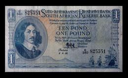 # # # Seltene ältere Banknote Südafrika (South Africa) 1 Rand 1958 # # # - South Africa