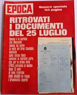 25 LUGLIO - EPOCA N.   811 DEL   10 APRILE 1966 (CART 54) - Motori