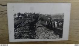 Carte Photo Accident De Train A Localiser ................ OX2-788 - A Identificar