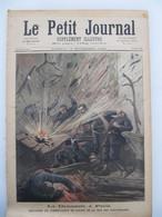 """19 Novembre 1892 """" Le Petit Journal """" N°104 : Ravachol Anarchiste Explosion Commissariat Police / Dahomey Prise De Kana - 1850 - 1899"""