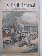 """26 Novembre 1892 """" Le Petit Journal """" N°105 : Dahomey Fétichiste De Kana / Russie Invasion D'ours - 1850 - 1899"""