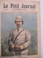 """3 Décembre 1892 """" Le Petit Journal """" N°106 : Dahomey Général Dodds & Crémation De Cadavres Colonie - 1850 - 1899"""