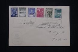 NORVÈGE - Enveloppe FDC En 1943 Avec Cachet De Censure Anglaise - L 96991 - Covers & Documents
