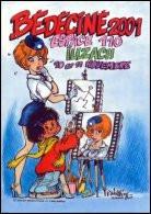 BEDECINE 2001 ILLZACH Vignette Adhésive Autocollant NATACHA De François WALTHERY Strip Comics Bédé - Zelfklevers