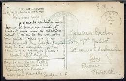 "Soudan - Groupe Mobile Colonial Cnie Radio - Cpa ""Lessive Au Bord Du Niger""  Correspondance F.M De Kati Pour La France - - Covers & Documents"