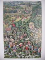 CRIB Nativity Krippe Créche - Betlehem, Painted By Folk Painters 19.-20. Century - 1980s Used - Unclassified