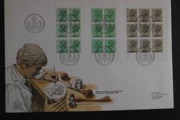 Großbritannien Mi. H Blatt 122(2) + 121 FDC ( Ca 26,5 X 18 Cm)  14.9.1983 - Selten - Booklets
