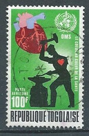 Togo Poste Aérienne YT N°176 Mois Mondial Du Coeur Oblitéré ° - Togo (1960-...)