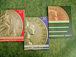 Numismatica -Catalogo Mondiale Monetazione Moderna (3 Parti)-Roma 1968-69-71 - Collections