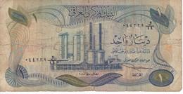 BILLETE DE IRAQ DE 1 DINAR DEL AÑO 1973 (BANK NOTE) - Iraq