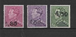 België N° 724X/724Z  Xx Postfris Opdruk 1,35  1,80  4,50 Gellingen Poortman - Unused Stamps