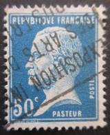 France N°176 LOUIS PASTEUR Oblitéré - Louis Pasteur
