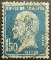 France N°181 LOUIS PASTEUR Oblitéré - Louis Pasteur