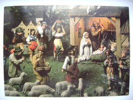 CRIB Nativity Krippe Créche - Praha Stresovice, Bethlehem By Jan Florian Ca 1930s - Posted 1991 - Unclassified