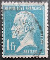 France N°179 LOUIS PASTEUR Oblitéré - Louis Pasteur