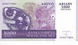 BILLETE DE MADAGASCAR DE 1000 ARIARY DEL AÑO 2004 SIN CIRCULAR (BANKNOTE) UNCIRCULATED - Madagascar