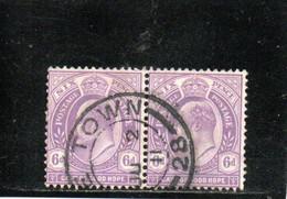CAP DE BONNE-ESPERANCE 1903-4 O - Cape Of Good Hope (1853-1904)