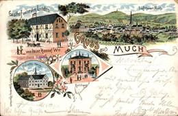 Much - Litho - Heinr Honnef - Gasthof Linden - 1904 - Non Classificati