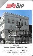 CARTE -ITALIE-Serie TURISTICA-Ref P190-Catalogue Golden-5000L/31/12/90-PERUGIA-Utilisé-TBE-RARE - Pubbliche Precursori