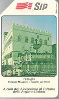 CARTE -ITALIE-Serie TURISTICA-Ref P188a-Catalogue Golden-5000L/31/12/90-PERUGIA-Utilisé-TBE-RARE - Pubbliche Precursori