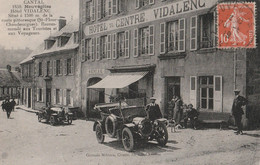 15 NEUVEGLISE   HOTEL VIDALENC (avec Devant La Voiture Du Medecin) - Otros Municipios