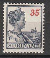 Suriname 1915-1926 Wilhelmina 35ct NVPH 99 Ongestempeld/MH/* - Suriname ... - 1975