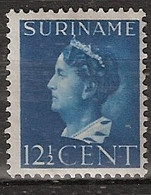 Suriname 1946 Wilhelmina 12.5ct.  NVPH 244 Ongestempeld - Suriname ... - 1975