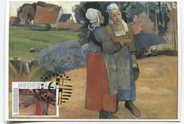 Maximum Kaart CM Maximum Card Paul Gauguin  Nude Nakt - Impressionisme