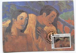 Maximum Kaart CM Maximum Card Paul Gauguin  Nude - Nudes