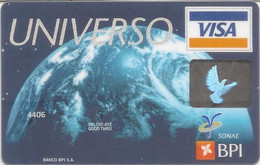 PORTUGAL - UNIVERSO - BPI - VISA (Galp/Modelo/Continente) - Credit Cards (Exp. Date Min. 10 Years)