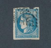 FRANCE - CERES DE BORDEAUX N° 45B OBLITERE GC 260 AVIGNON - 1870 - 1870 Uitgave Van Bordeaux