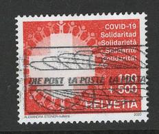 Zwitserland 2020, Mi 2648 CORONA, Hele Hoge Toeslagwaarde,  Gestempeld - Used Stamps