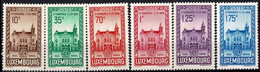 Luxembourg, Luxemburg 1936 Congrès FIP Série Neuf MNH** Val.cat.20€ - Unused Stamps