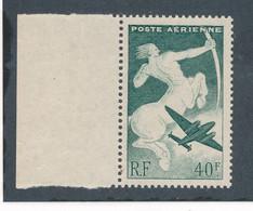 FRANCE - POSTE AERIENNE N° 16 NEUF** SANS CHARNIERE PAPIER GC - 1946/47 - 1927-1959 Ungebraucht