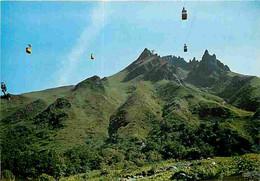 63 - Le Sancy - Massif Du Mont Dore - Les Cabines Des Deux Téléphérique Se Croisent Au Dessus Des Gorges D'Enfer - CPM - - Otros Municipios