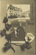 SALUTI DA STRESA - Viaggiata 2.9.1909   (1037a) - Verbania