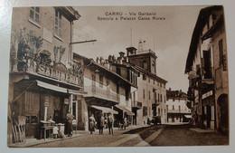 Carrù Via Garibaldi Specula E Palazzo Cassa Rurale - Cuneo