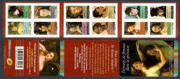 2012 Carnet Adhésif PORTRAIS De FEMMES Dans La PEINTURE -BC 674  NEUF - LUXE ** NON Plié 12 Timbres - Commemorrativi