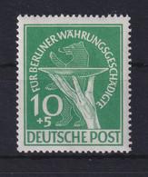 Berlin 1949 Für Währungsgeschädigte 10+5 Pf Grün Mi.-Nr. 68 Postfrisch ** - Ohne Zuordnung