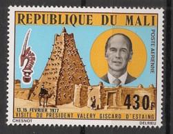 Mali - 1977 - Poste Aérienne PA N°Yv. 291 - Giscard D'Estaing - Neuf Luxe ** / MNH / Postfrisch - Mali (1959-...)