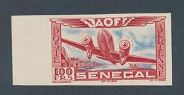 SENEGAL - POSTE AERIENNE NON DENTELE N°30 NEUF** LUXE SANS CHARNIERE - 1942 - Luchtpost