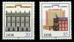 DDR 1985 Nr 2980-2981 Postfrisch SB2C236 - Nuovi