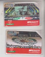 Scheda Telefonica Telecom Phone Card Carte De Téléphone  Tarjeta Telefónica Sport Juventus  Lazio Calcio Football Soccer - Deportes