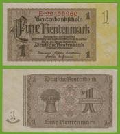 Rentenbankschein Deutsches Reich 1 Rentenmark 1937 Ros 166b  UNC   (19464 - Sin Clasificación