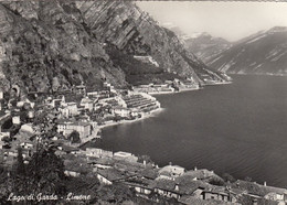 LIMONE-BRESCIA-LAGO DI GARDA-CARTOLINA VERA FOTOGRAFIA VIAGGIATA NEL 1965 - Brescia